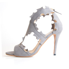 2015  Summer New Style Suede Women's Stiletto Heel Sandals zapatos mujer fashion comfortable shoes  Women Shoes