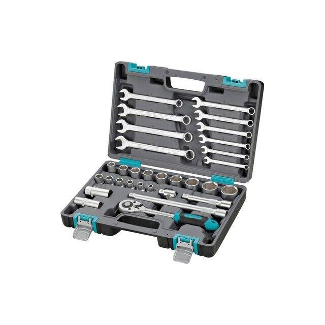Набор инструментов STELS 14102 (31 предмет из высококачественной стали, кейс в комплекте)