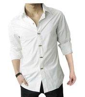 Мужская одежда длинная рукавами рубашка свободного покроя хлопок рубашки для мужчины официальный s m l xl xxl xxxl mts026