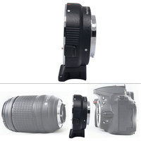 Auto Mount Adapter EF NEX for Canon EOS EF Mount Lens to Sony NEX series E Mount Camera with 1/4 Tripod socket