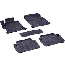 Резиновые коврики для Honda Accord IX (2013-2017) с высокими бортиками (Seintex 84849)