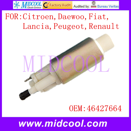 New Auto Electric Fuel Pump use OE NO. 46427664 for Citroen Daewoo Fiat Lancia Peugeot Renault