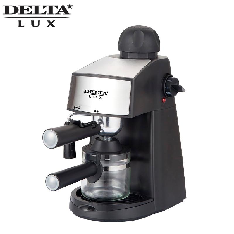 DL-8151K cafetière machine noir goutte à goutte, café ménage matériau plastique américain, complètement automatique, indicateur de travail DELTA