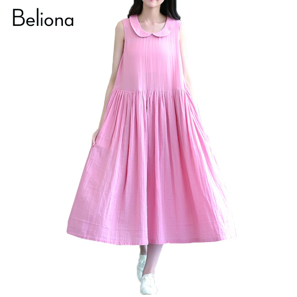 Compare prices on pink maternity dress online shoppingbuy low linen cotton maternity dresses sleeveless pregnant dress pregnancy clothes for pregnant women pink maternity dress ombrellifo Gallery