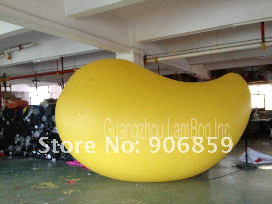 Горячая 3,5 м надувной воздушный шар манго для рекламы/продвижения/другие овощи и фрукты формы могут быть сделаны