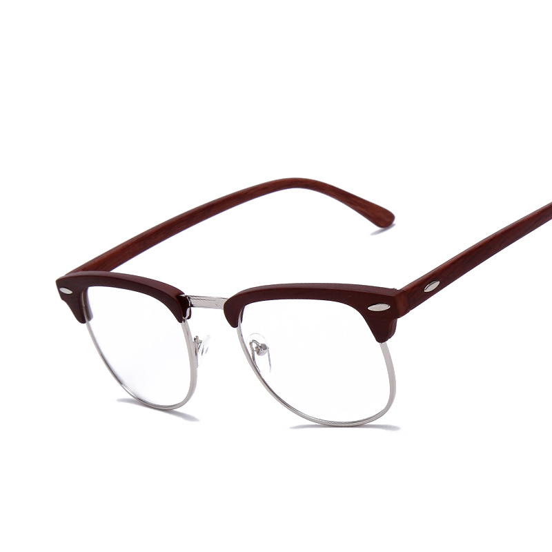 brand johnny depp wood glasses men women vintage optical eyeglasses glasses frame high quality oculos de grau f15008