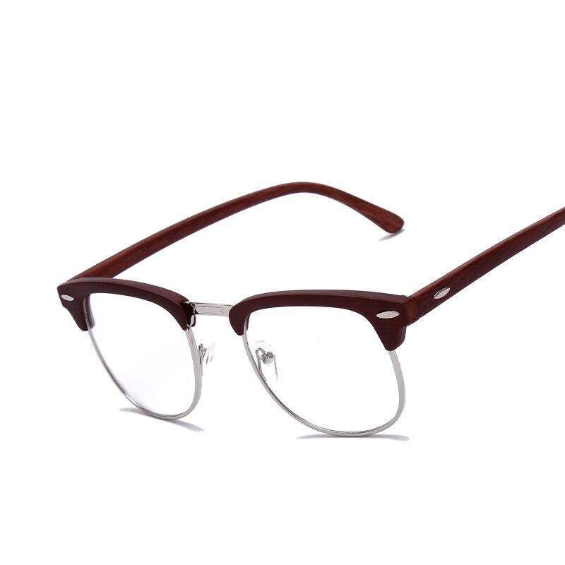 brand johnny depp wood glasses men women vintage optical eyeglasses glasses frame high quality oculos de