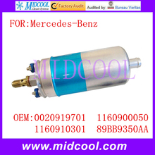 New Auto Electric Fuel Pump use OE NO. 0020919701 , 1160900050 , 1160910301 , 89BB9350AA for Mercedes-Benz