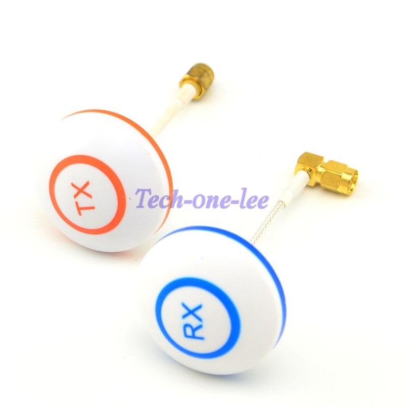 bilder für 2 teile/los 5,8G Antenne Pilz Zirkular Polarisierte Für 5,8 GHz Bifrequenz für FPV TX RX SMA Antenne