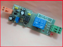 Free Shipping!!! electronic  Power-up reset on NE555 relay module / NE555 adjustable time delay reset module board