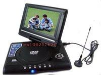 """новое 7 """" портативный ДВД плеер DivX, и порт, USB-порт черный бдх. ЭМС. федерал ехпресс"""