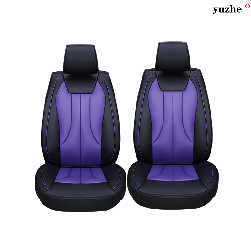 2 pcs Leather car seat covers For Opel Astra h j gmokka insignia mokka corsa ampera car accessories car-styling цена