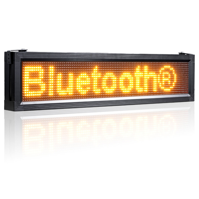 53inch 12V P10 LED Board Semi- Outdoor Car Bus Trucks warehouse Bluetooth Led Sign Display Advertising Or Publicity