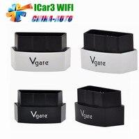 20pcs/lot DHL Free Vgate iCar3 Wifi ELM327 Vgate iCar3 Wifi OBDII ELM327 Auto OBD2 Scanner Car Diagnostic Interface For IOS
