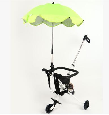 Pequeno grilo metros de altura portátil dobrável criança triciclo carro do bebê handcars ultra-luz simples emperorship