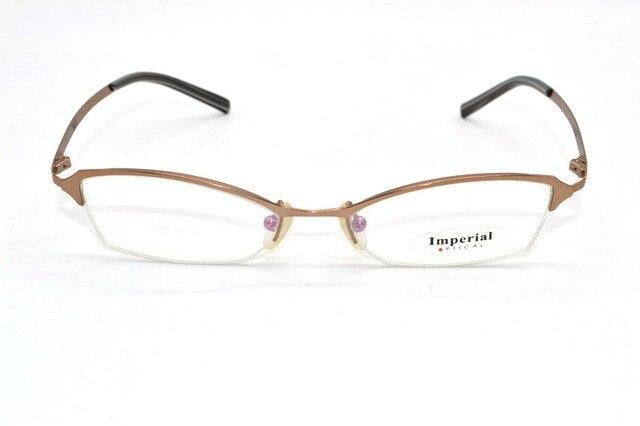 Half-Rim titanium alloy Ultralight irregular shape Business Custom Made Prescription nearsighted glasses Photochromic -1 to -9
