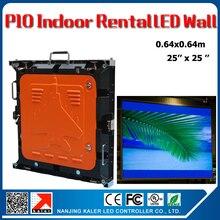 TEEHO внутренний арендуемый Светодиодный светильник стены P10 0,64x0,64 m 1/8 сканирования литьем под давлением алюминиевый Прокат шкаф панели полноцветный светодиодный видео панель Свадьба гостиничном номере
