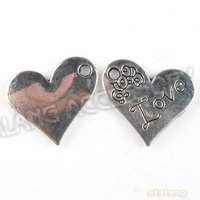 мода 60 шт./романтично РЭС лот любовь в форме сердца подвески подвески анти покрытие сэкономить подходящие поделки 142789