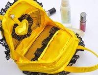 5 от за 50 $ 5 $ от за 50 $! бесплатная доставка / золотой руки атласной косметичка / женская сумка / горячая распродажа zp425c