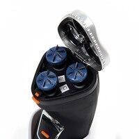 бесплатная доставка аккумуляторная водонепроницаемый стирать в электрический 3 глав тройной нож rscx-5085 8543