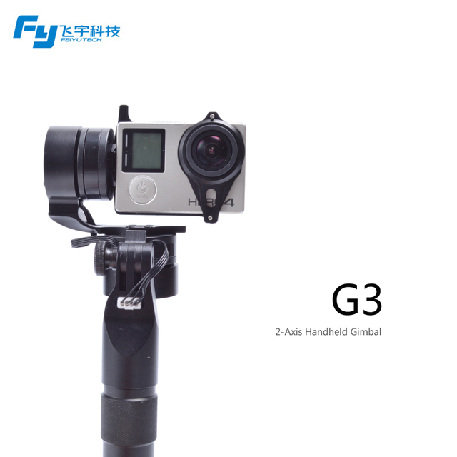 [feiyutech Official Store] Fy-G3 2 Axis Handheld Gimbal For Gopro Time-limited Sale Low Shipping Fee Brushless Motor Gyro