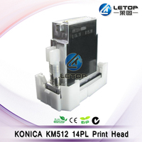 Good price!!KONICA printhead solvent printer konica minolta 512/14pl head for ALLWIN/JHF/k jet|printer konica|konica minoltakonica printhead -
