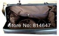 бесплатная доставка женщин сумки женщин-старинные горный хрусталь заклепки одно плечо чернокожих женщин большая коробка сумки