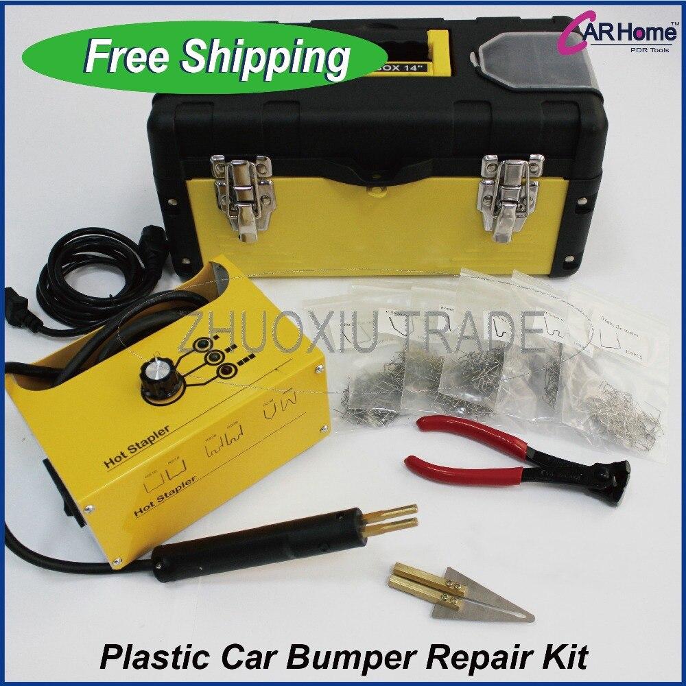 Hot Stapler Kit Panel Shop Bumper Repair Plastic Repairs Kit INC S 600 Staples and Melt