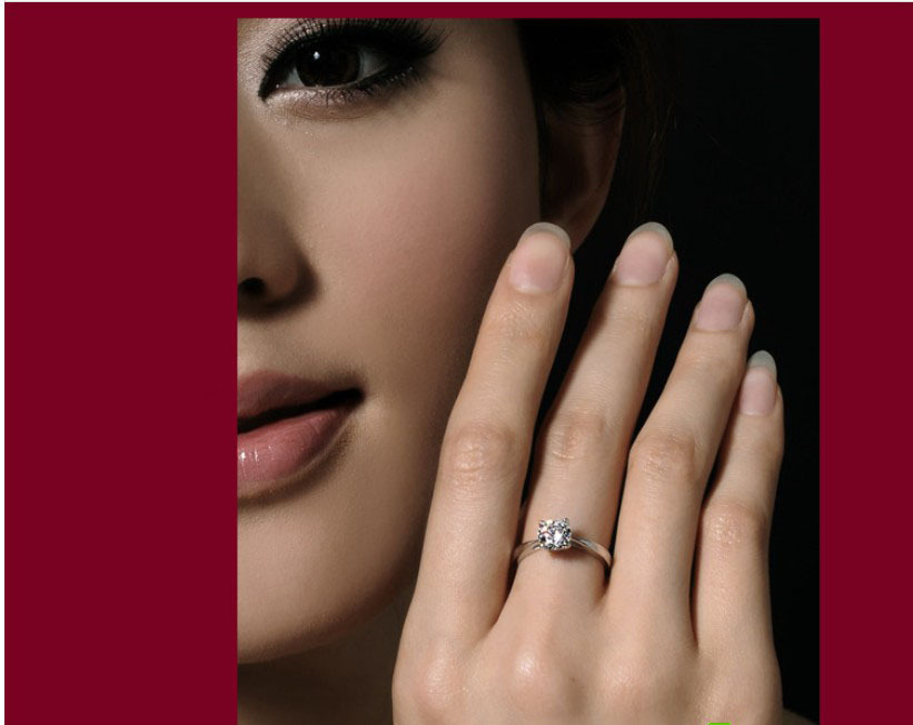 bague diamant 0.8 carat