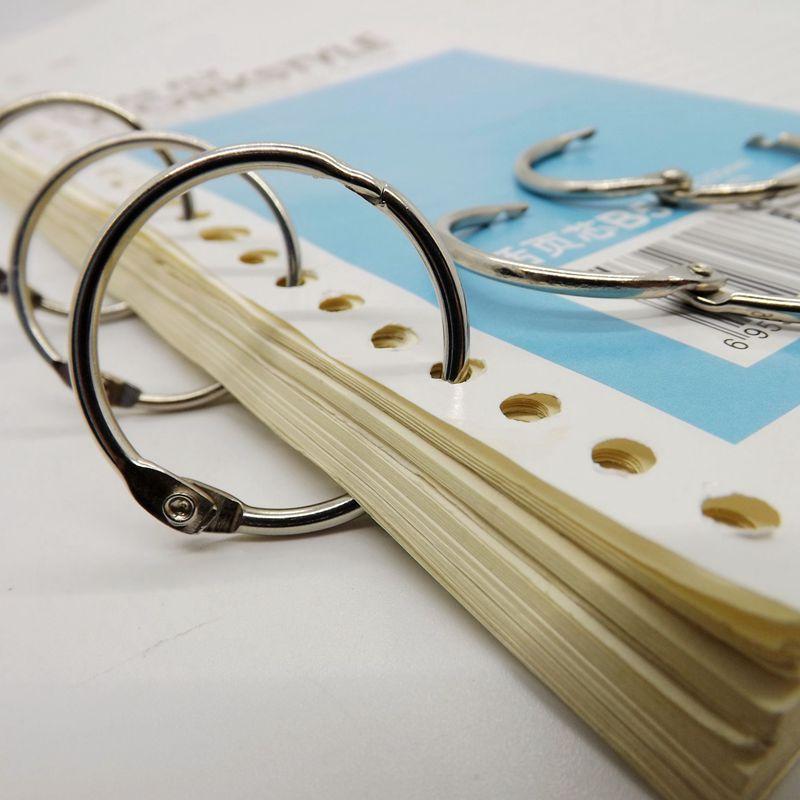 fabricante aliexpress venda quente direto 10 unidades pacote de alta qualidade niquelagem anel chave colecao escritorio