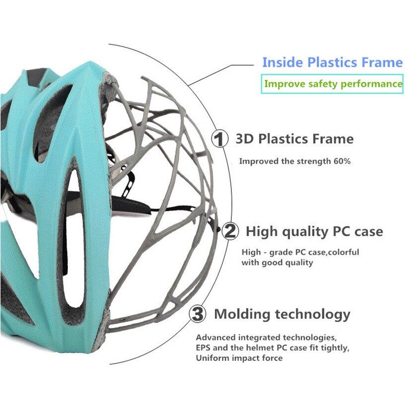 ФОТО Inside Frame Cycling Helmet Bicicleta Capacete Casco Ciclismo Bike Helmet Para Bicicleta Ultralight Bicycle bike Helmet