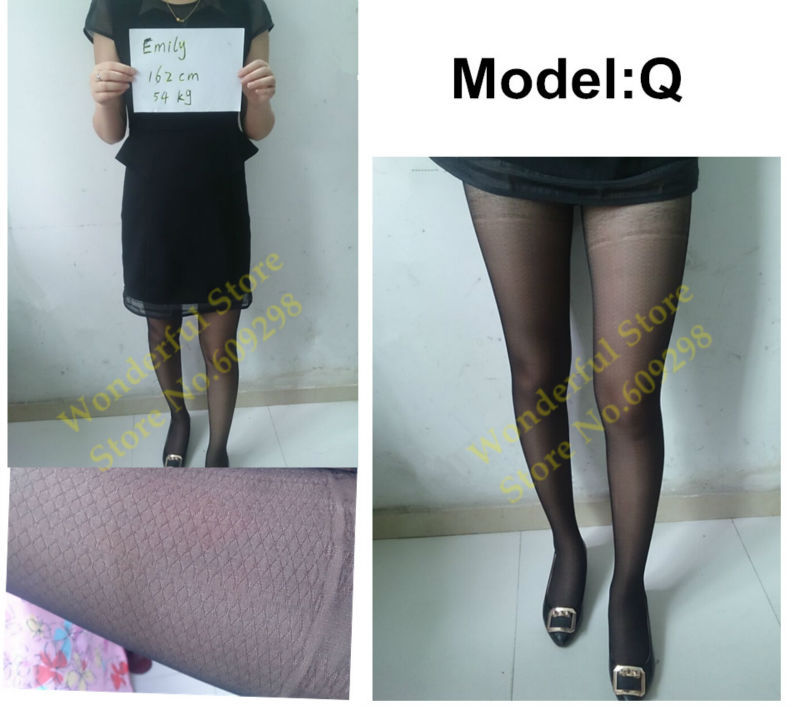 Sexy Pantyhose Tights Women Female Stockings Fashion Thin Sheer Long for Spring Fall Multi Pattern Free Shipping (15)
