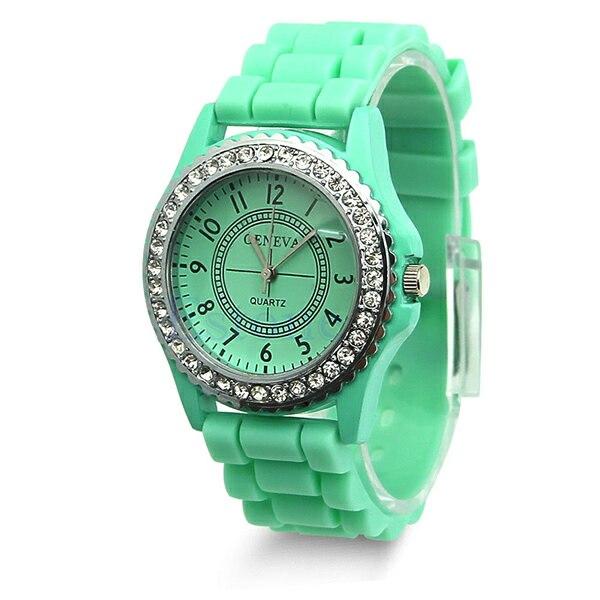 Женева Кварцевые Часы Красочные Купить Женева
