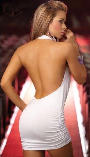 new style for santa bright stretch lycra white sexy tight skirt
