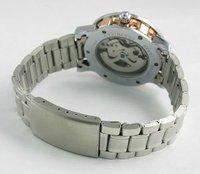sewor топ мода автоподзаводом авто menchancial скелет мужские наручные часы