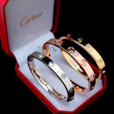 Браслеты в стиле Cartier Love с Алиэкспресс
