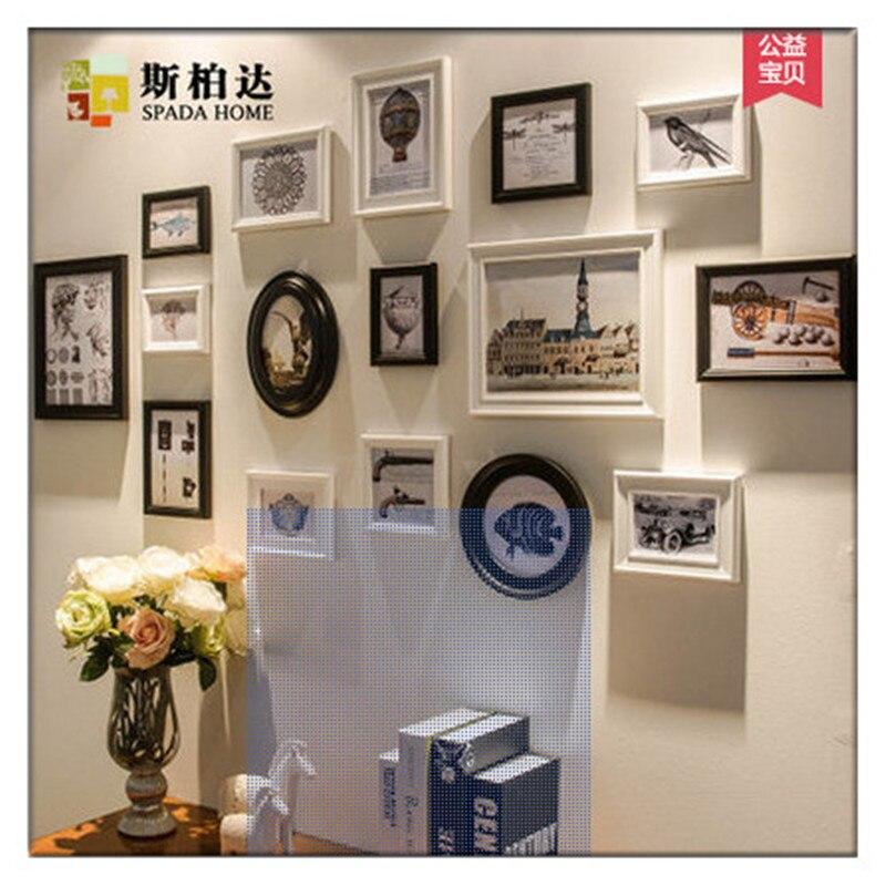 White picture frames Hot Sale LOVE Modern Home Decor Floral White ...