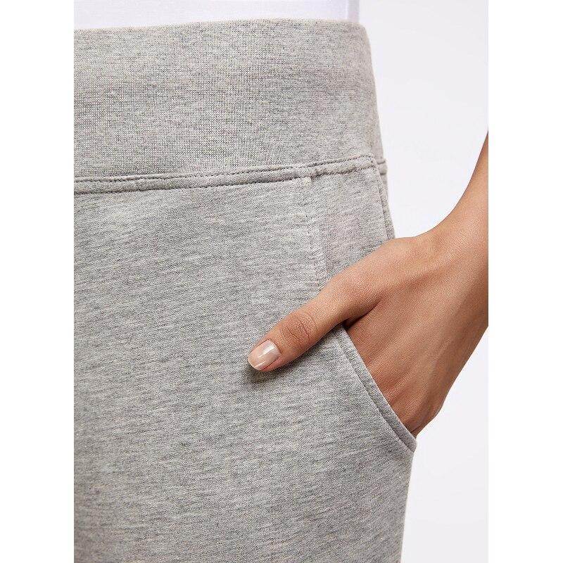 Oodji 2017 женские брюки трикотажные спортивные, бесплатная доставка из россии, 16700030-5b/46173