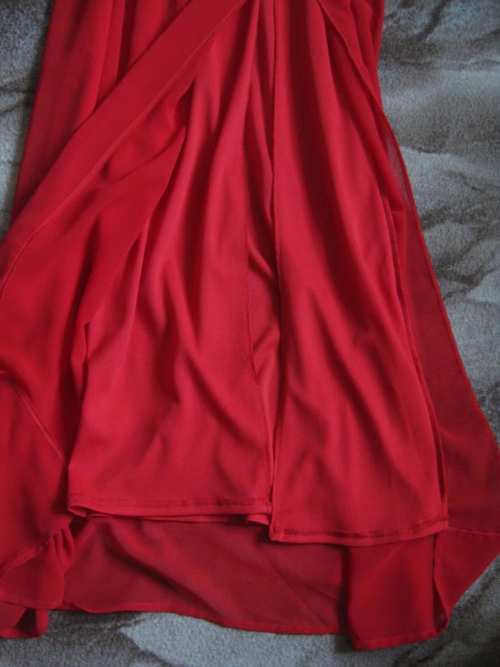 Мое новогоднее красное платье
