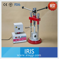 IRIS CE Approved AX YD Valplast Flexible Denture Injection Machine For Making Dental Prosthesis In
