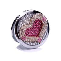 кристалл мини красоты Seal портативный двойной стороны рама из нержавеющей стали обычный + ну wwxd1015