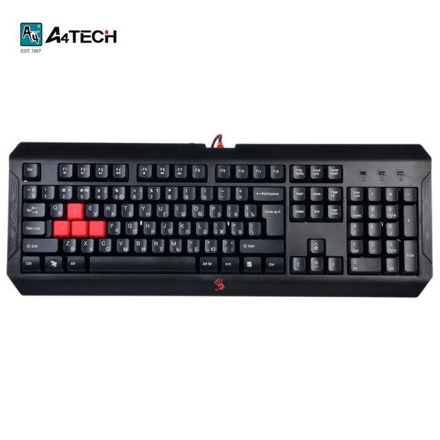 Игровая клавиатура A4Tech Bloody Q100, USB