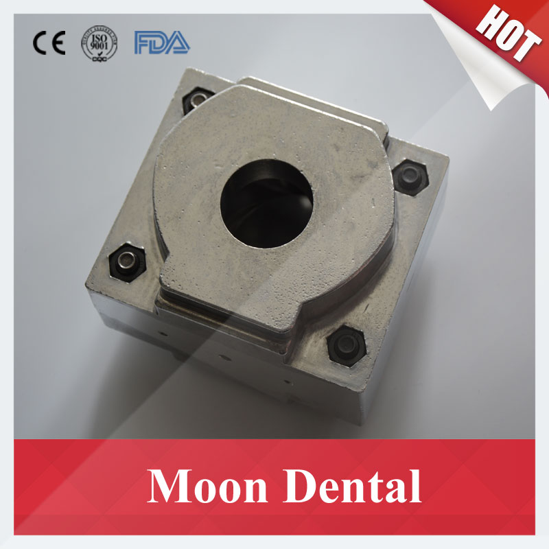 1 Piece Aluminium Valplast Flexible Denture Flask For Denture Injection System Machine To Make Partial Dentures