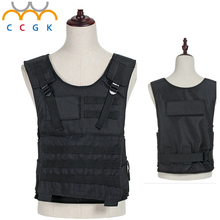Kevlar 800D oxford cloth The soft police tactical vest carrier bulletproof plate carrier gilet tactique gendarmerie body armor