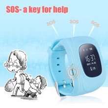 Smart Watch Kind Armbanduhr Q50 SOS GSM GPRS GPS Locator Tracker Anti-verlorene Smartwatch Kind Schutz für iOS Android
