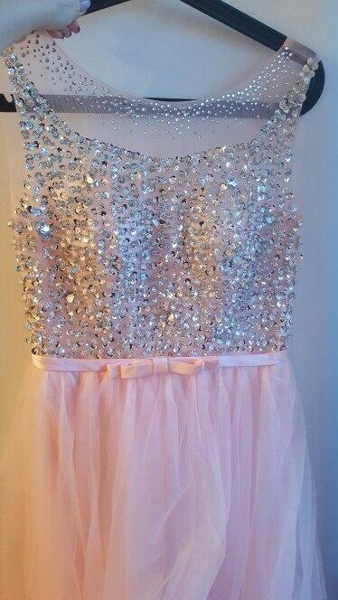 Красивое платье. Несколько недель  платье шили, дошло за 2 недели.
