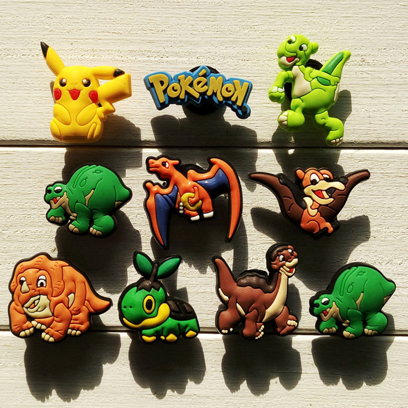 Free Shipping 10pcs/ Lot Cartoon PVC shoe decoration/shoe charms/shoe accessories  for wristbands ,Kids love them,cute cartoon zyxel es1100 24e