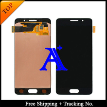100% tested original For Samsung Galaxy A3 A3100F A3100 A310F  2016 LCD Digitizer Assembly -White/Black