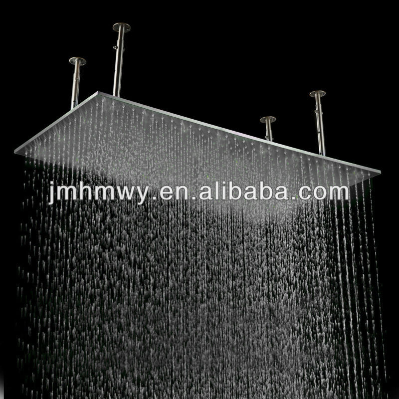 shower mount installation see larger fan elegant image rain flush s with ceiling head mounted large rainfall in helicopter