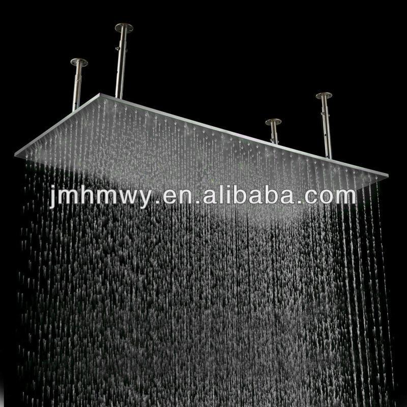 fixed rails hero showers drench shower head luxury ceiling rain heads large arms crosswater belgravia